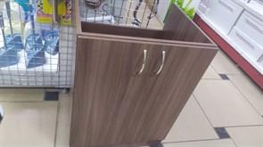 Тумба-мойка кухонная, 600x510x820мм,под мойку, ЛДСП, шимо темный