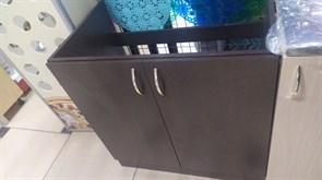 Тумба-мойка кухонная, 800x510x820мм,под мойку, ЛДСП, венге