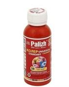 Колер-паста Палитра (Palizh), №38 алый, 100мл