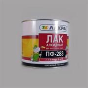 Лак Лакра ПФ-283 алкидный, для деревянных и металлических поверхностей, глянцевый, 1.8кг