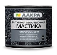 Мастика Лакра битумная, изоляционная, для наружных работ, 1.8кг