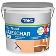 Шпатлевка Текс Профи, латексная, готовая, белая с оттенком, 1.5кг