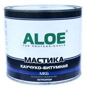 Мастика ALOE каучуко-битумная МКБ, холодного применения, быстросохнущая, 1.8кг