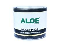 Мастика ALOE резинобитумная МРБ, холодного применения, быстросохнущая, 1.8кг