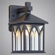 Светильник уличный настенный 17035-WD, высота 295мм, 1x60W, E27, SHJ20, черный