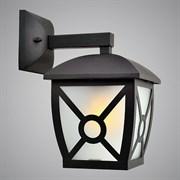 Светильник уличный настенный 17003-WD, высота 270мм, 1x60W, E27, SHJ20, черный