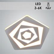 Светильник потолочный светодиодный W3014/180, диаметр 180мм, LED 1x36W, 3000-6000K, ПДУ, белый