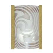 Светильник настенный/бра Дюна Диона, 220x150мм, 1х60W, E27, белый/песок/сосна