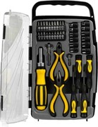 Набор слесарно монтажного инструмента STAYER MASTER, с реверсивной отверткой, с насадками, в пластиковом боксе, 41 предмет