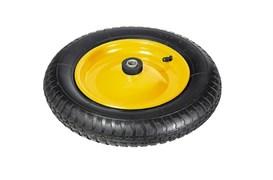 Колесо пневматическое для тачки 3.25-8, диаметр 360мм, подшипник диаметром 16мм
