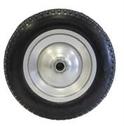Колесо для тачки 3.25-8, диаметр 360мм, подшипник диаметром 16мм, полиуретан