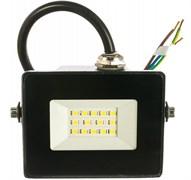 Прожектор светодиодный IEK СДО-06-30, 30Вт, 6500К, черный
