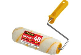 Валик малярный Stayer GIRPAINT Стандарт 0315-18, 40x180мм, бюгель 6мм, ворс 12мм