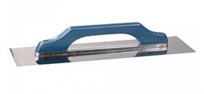 Гладилка плоская STAYER Швейцарская 0803, 130x480мм, полотно нержавеющая сталь, деревянная ручка
