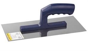 Гладилка плоская ЗУБР Профессионал 0804, 130x280мм, полотно нержавеющая сталь, пластиковая ручка