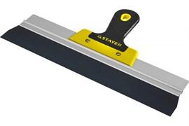 Шпатель STAYER Профи 10045-35, 350мм, фасадный, анодированный, двухкомпонентная ручка