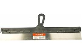 Шпатель ЗУБР Стандарт 10052-60, 600мм, фасадный, стальной, пластиковая ручка