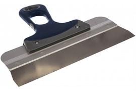 Шпатель СИБИН 10085-25, 250мм, фасадный, полотно нержавеющая сталь, двухкомпонентная ручка