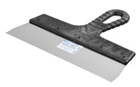 Шпатель СИБИН 10079-250, 250мм, фасадный, полотно нержавеющая сталь, пластиковая ручка