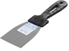 Шпатель СИБИН 10079-060, 60мм, полотно нержавеющая сталь, пластиковая ручка