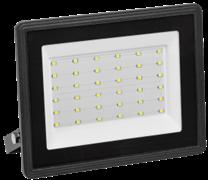 Прожектор светодиодный IEK СДО-06-50, 50Вт, 6500К, черный