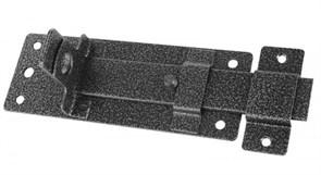 Задвижка/засов дверная ЗД-13 Секрет, 180x75мм, с проушиной, серебро