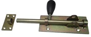 Засов гаражный №9, малый под ВС, с ответной планкой, сталь
