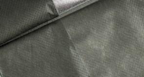 Укрывной материал М-90 Агротекс, 1.6м, мульча двойное тепло, фольгированный, серебристо-черный