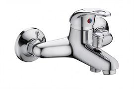 Смеситель для ванны KOMRAD S21-009, диаметр кран-буксы 35мм, однорычажный, цинк, хром