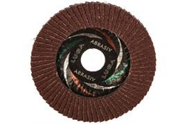 Круг лепестковый торцевой абразивный ЛУГА, 115х22мм, зерно Р40, для шлифования