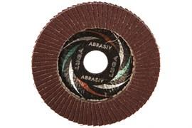 Круг лепестковый торцевой абразивный ЛУГА, 115х22мм, зерно Р80, для шлифования