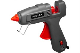 Пистолет клеевой (термопистолет) MIRAX, диаметр клеевого стержня 11мм, 200Вт/350Вт, 220В