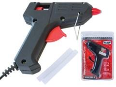 Пистолет клеевой (термопистолет) КЕДР 52-100, диаметр клеевого стержня 7мм, 10Вт, 220В