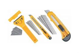 Набор ножей и скребков STAYER STANDARD для ремонта, 6шт в наборе