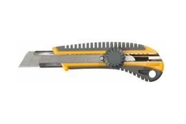 Нож пластмассовый STAYER MASTER, с сегментированным лезвием, 18мм