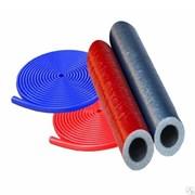 Утеплитель для труб из вспененного полиэтилена ПВД 18x4мм, красный, рулон 6м