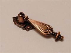 Ручка мебельная РК 2174  (K506), висячая, медь