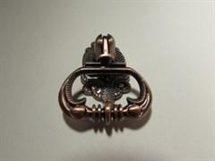 Ручка мебельная 2743 РК (К514), висячая, медь