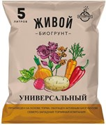 Грунт Живой биогрунт СЗТК, универсальный с биогумусом, 5л
