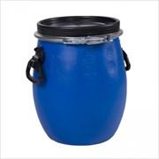 Бочка S VER-45601, 20л, полиэтиленовая, с крышкой и ручками, синяя