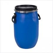 Бочка S VER-45603, 30л, полиэтиленовая, с крышкой и ручками, синяя