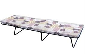 Кровать раскладная (раскладушка) КР-40 Алеся, мягкая (листовой поролон 40мм), 1920х650х290мм, 120кг