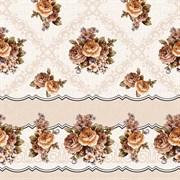 Клеенка столовая Декорама 155С, 140см, ПВХ, декоративная