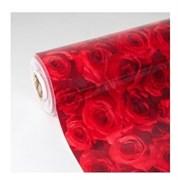 Клеенка столовая Термо 4205, 100см, толщина 0.6мм, силиконовая, непрозрачная