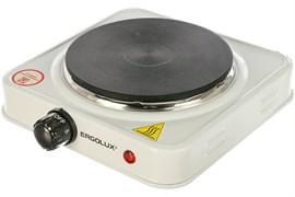 Плитка электрическая одноконфорочная ERGOLUX ELX-EP03-C01 83884, 1кВт, диск, белая
