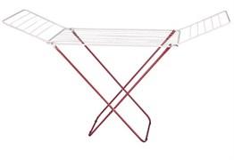 Сушилка для белья напольная Рыжий кот CD-20, 1800x1050x550мм, максимальная длина 20м, металлическая, белая