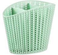 Сушилка для столовых приборов Вязание М1166, пластиковый, фисташковая