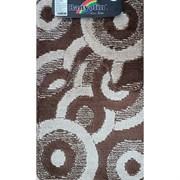 Коврик в ванную Санакс 00253 CLASSIK MULTI, 55х90+45х55см, двойной, полиэстер, коричневый
