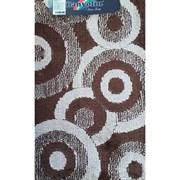 Коврик в ванную Санакс 00261 CLASSIK MULTI, 55х90см, одинарный, полиэстер, коричневый