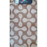 Коврик в ванную Санакс 00264 CLASSIK MULTI, 55х90см, одинарный, полиэстер, коричневый
